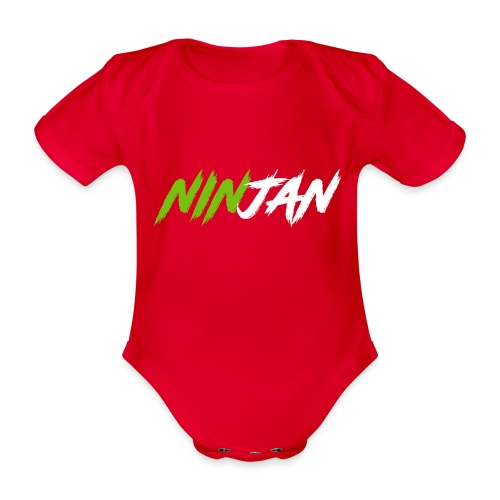 spate - Organic Short-sleeved Baby Bodysuit