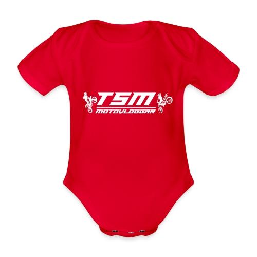 TSMSticker2017 transparant png - Ekologisk kortärmad babybody