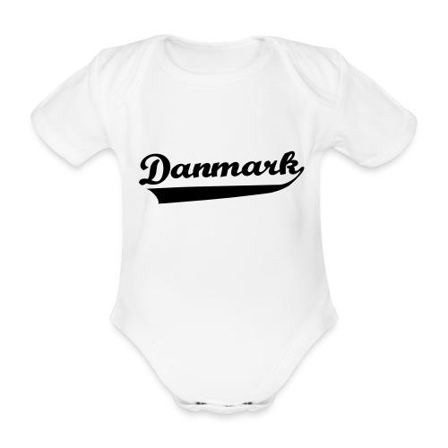 Danmark Swish - Kortærmet babybody, økologisk bomuld