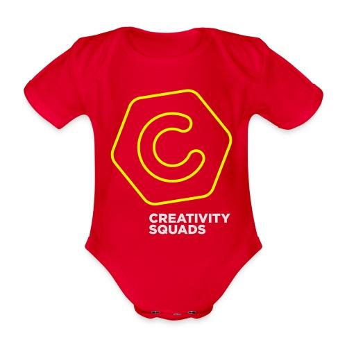 CS Hoodie Pink Unisex - Vauvan lyhythihainen luomu-body