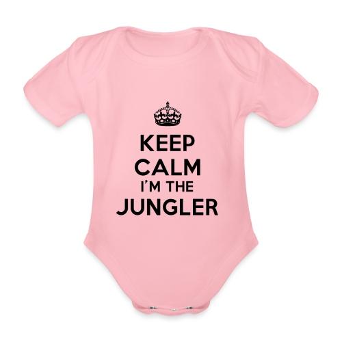 Keep calm I'm the Jungler - Body Bébé bio manches courtes