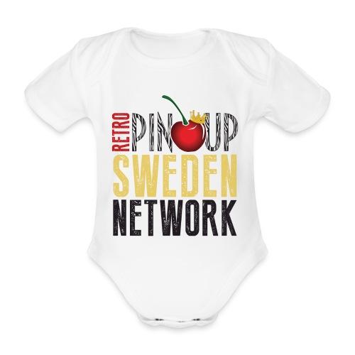 Tanktop Retro Pinup Sweden Crew utsvängd - Ekologisk kortärmad babybody