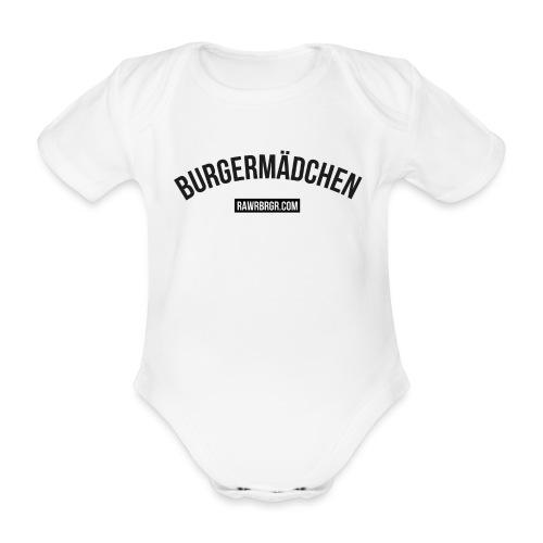 RAWR BRGR Burgermädchen - Baby Bio-Kurzarm-Body