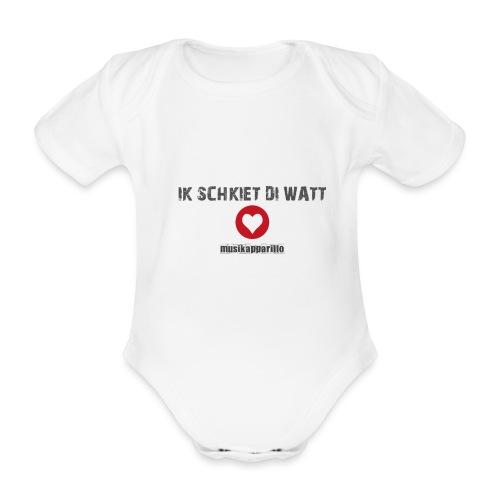 Strampler Schkiet - Baby Bio-Kurzarm-Body