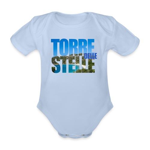 TorreTshirt - Body ecologico per neonato a manica corta