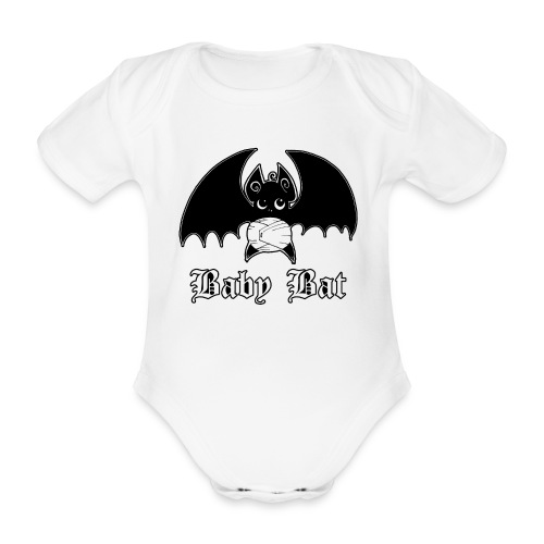BabybatFirst png - Baby Bio-Kurzarm-Body