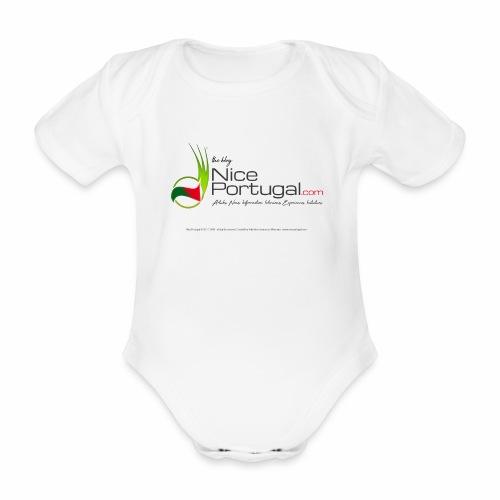 NicePortugal.com Logo - Body ecologico per neonato a manica corta