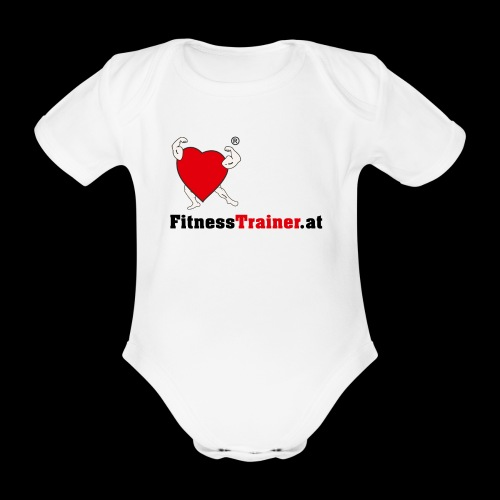 FitnessTrainer.at - Baby Bio-Kurzarm-Body