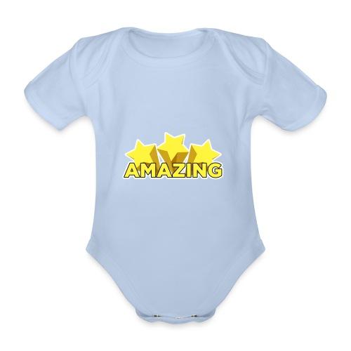 Amazing - Organic Short-sleeved Baby Bodysuit