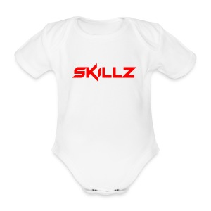 Skillz - Organic Short-sleeved Baby Bodysuit