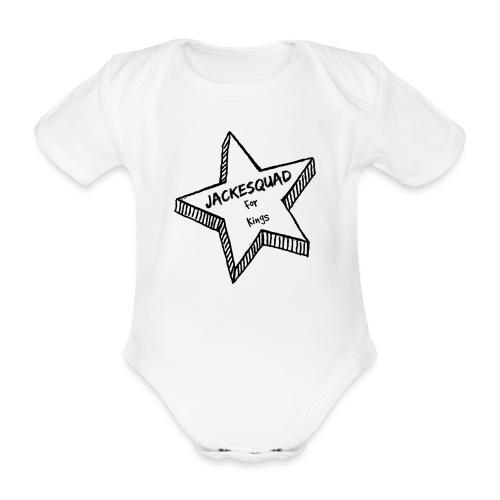 JACKESQUAD - Ekologisk kortärmad babybody