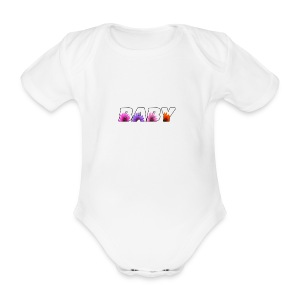 logo baby fille - Body bébé bio manches courtes