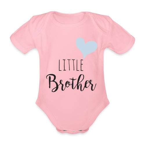 Little Brother - Baby Bio-Kurzarm-Body