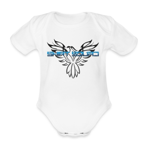 Shirt Squad Logo - Organic Short-sleeved Baby Bodysuit