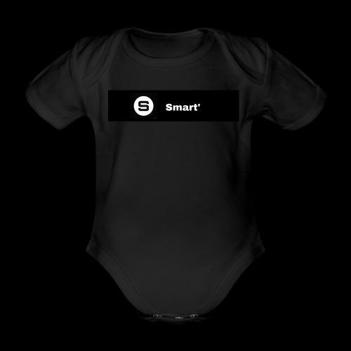 Smart' BOLD - Organic Short-sleeved Baby Bodysuit