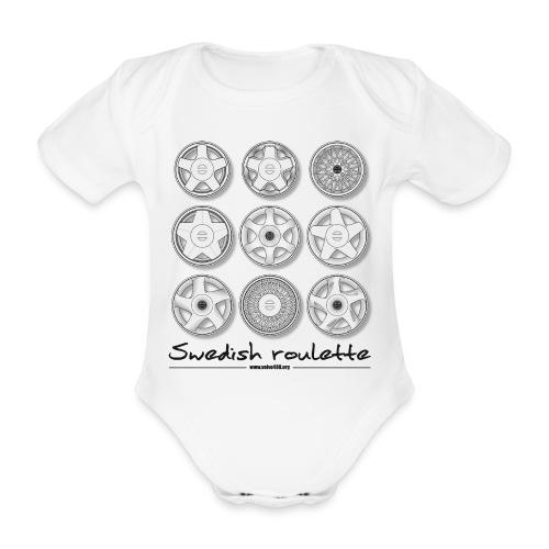 Swedish roulette - Body Bébé bio manches courtes
