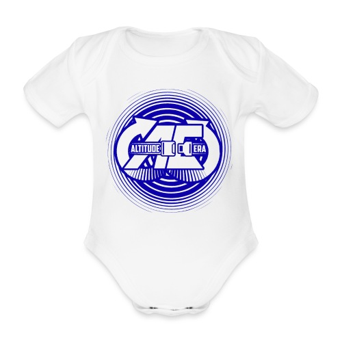 Altitude Era Circle Logo - Organic Short-sleeved Baby Bodysuit