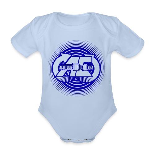 Altitude Era Circle Logo - Organic Short-sleeved Baby Bodysuit