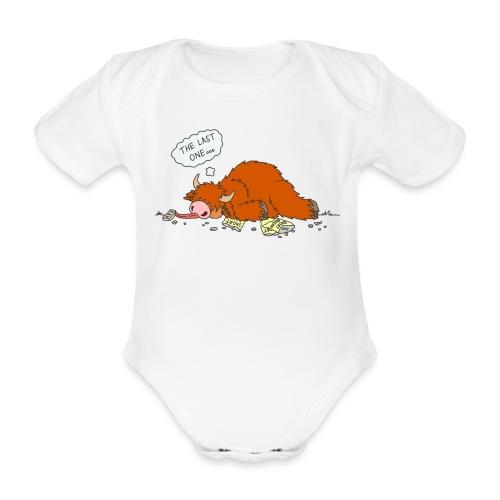 Shortcake - Der letzte Keks... - Baby Bio-Kurzarm-Body