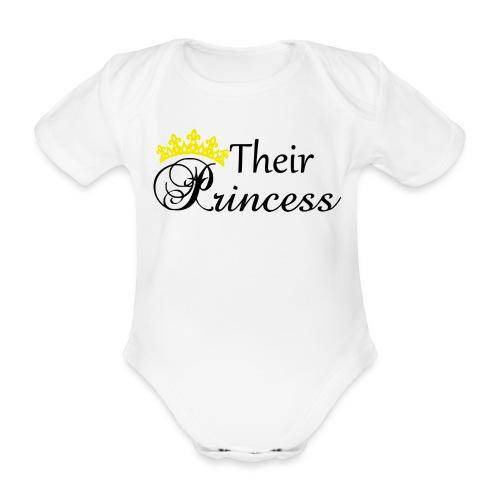 Their Princess - Ekologisk kortärmad babybody