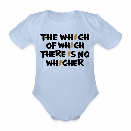 whichwhichwhich - Baby Bio-Kurzarm-Body