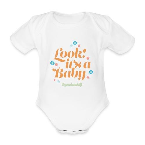Look! It's a Baby. - Baby Bio-Kurzarm-Body