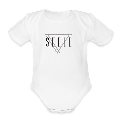 SEELE_BG_logo - Vauvan lyhythihainen luomu-body