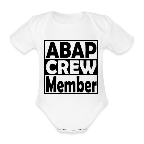 ABAPcrew - Baby Bio-Kurzarm-Body
