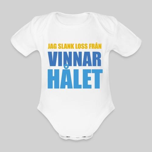 jag slank loss fran vinnarhalet - Ekologisk kortärmad babybody