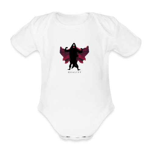 MackerelMan - Organic Short-sleeved Baby Bodysuit