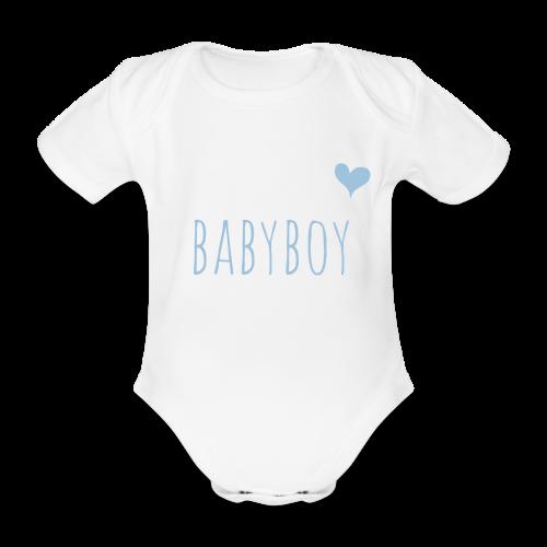 babyboy - Baby Bio-Kurzarm-Body
