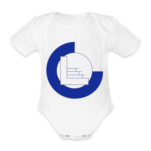 CvL Logo - Baby bio-rompertje met korte mouwen