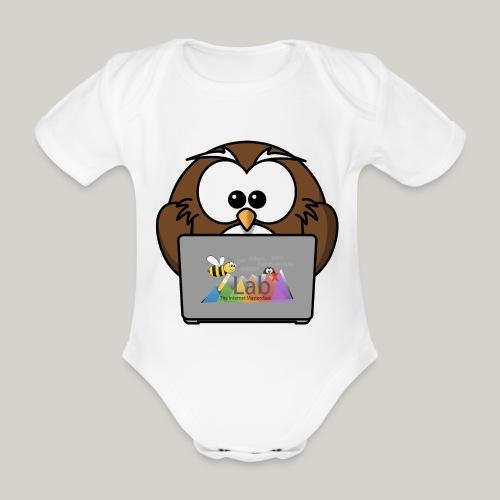 iLab.Owl - Organic Short-sleeved Baby Bodysuit