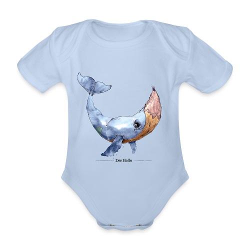 Wal-Stift (Der Holle) - Baby Bio-Kurzarm-Body