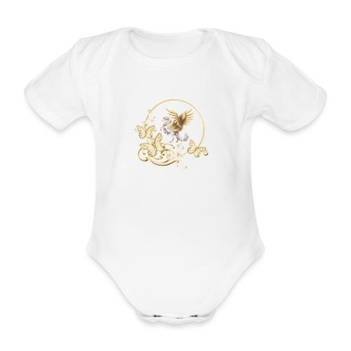 Your-Child horse - Kortærmet babybody, økologisk bomuld