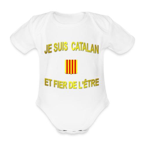 Dessous de verre à l'emblème du PAYS CATALAN - Body Bébé bio manches courtes