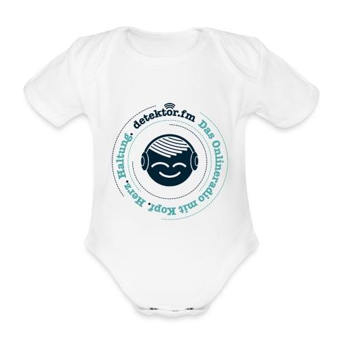 Radio mit KopfHerzHaltung - Baby Bio-Kurzarm-Body