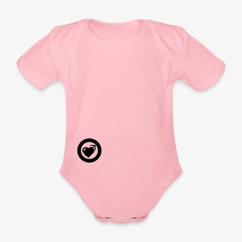 LOOVE (SS18) - Body ecologico per neonato a manica corta