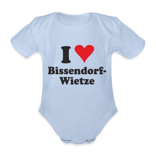 I Love Bissendorf-Wietze - Baby Bio-Kurzarm-Body