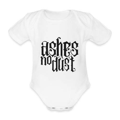 Black logo Ashes No Dust - Body Bébé bio manches courtes
