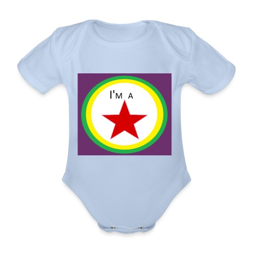I'm a STAR! - Organic Short-sleeved Baby Bodysuit