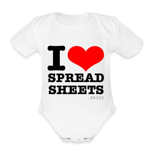 shirt2 - Organic Short-sleeved Baby Bodysuit