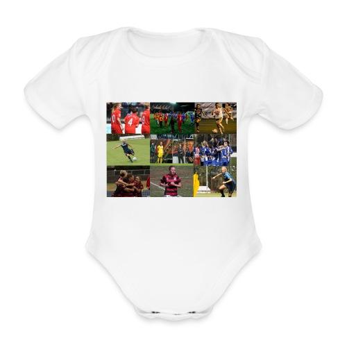 min resa - babybody - Ekologisk kortärmad babybody