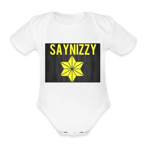 Say nizzy - Organic Short-sleeved Baby Bodysuit