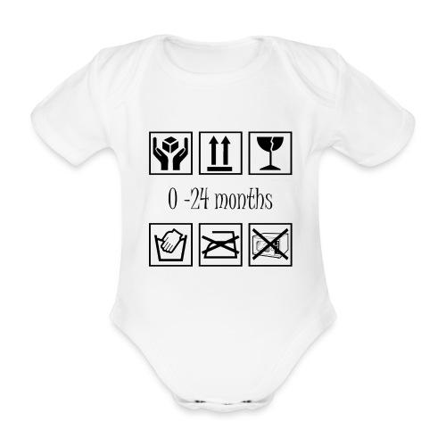 Baby Instructions - Ekologisk kortärmad babybody