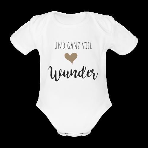 und ganz viel Wunder Familyshirt - Baby Bio-Kurzarm-Body