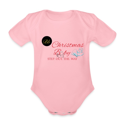 Christmas Baby - Billionaire Designs - Organic Short-sleeved Baby Bodysuit