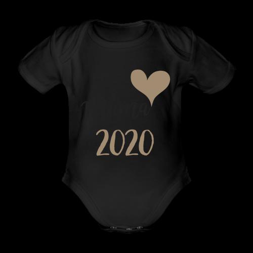 mama 2020 - Baby Bio-Kurzarm-Body