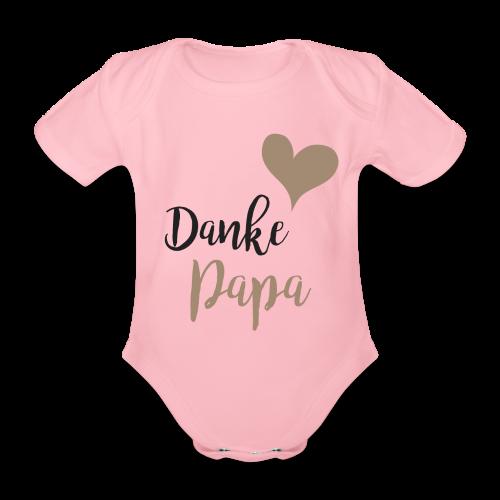 Danke Papa - Baby Bio-Kurzarm-Body