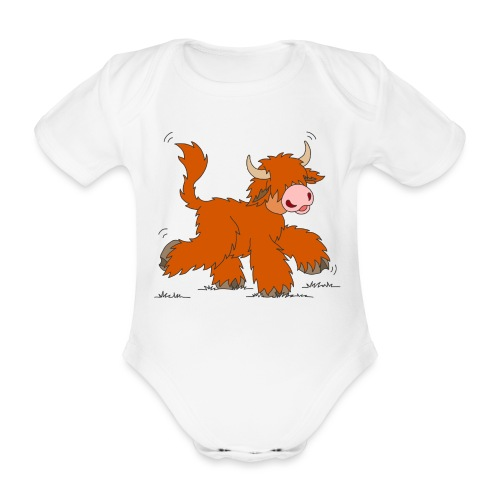 Shortcake - Rumgetrabe - Baby Bio-Kurzarm-Body